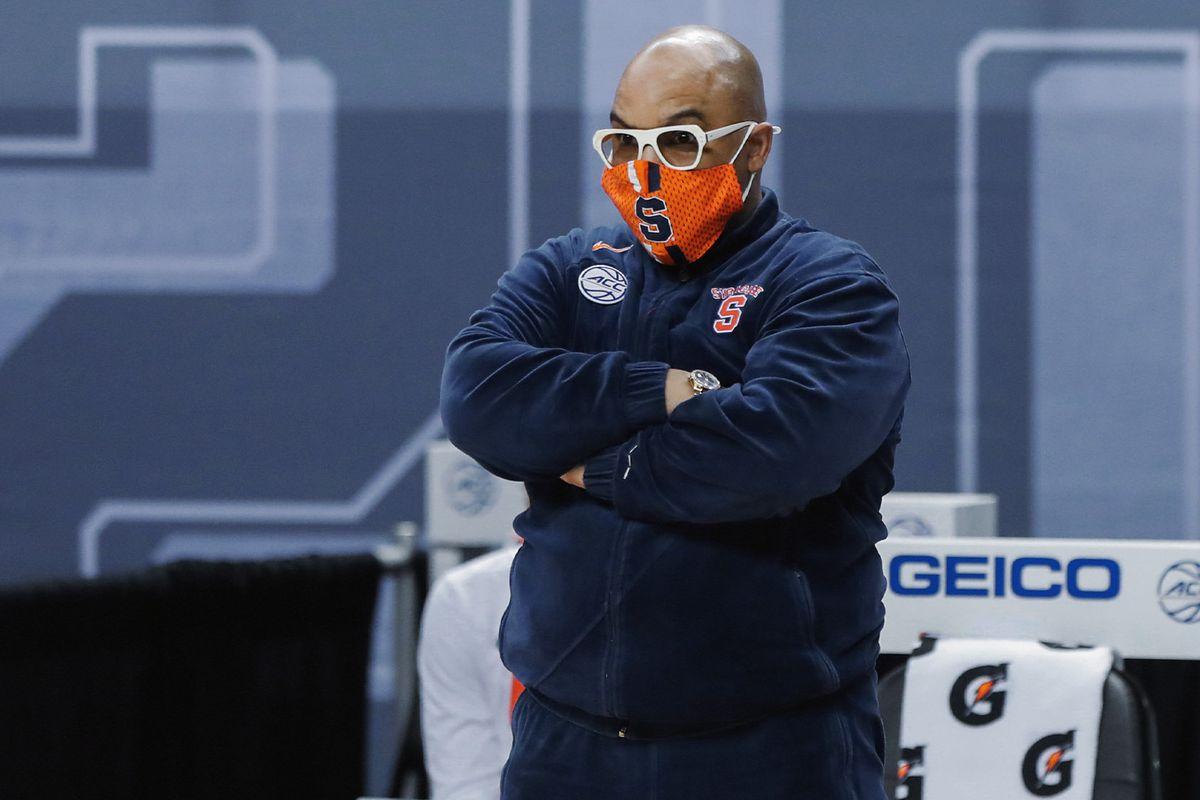 Coach Quentin Hillsman at ACC Tournament versus Florida State.