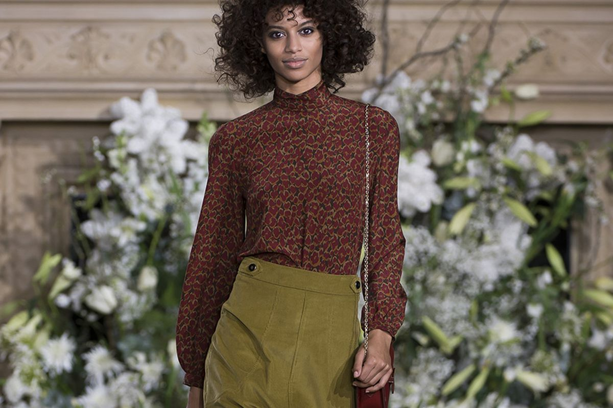 A look from the designer's fall/winter '17 collection.