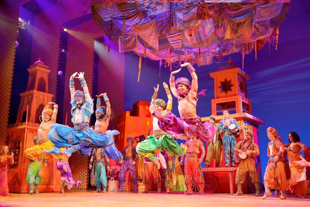 """Aladdin"" runs through Sept. 10 at the Cadillac Palace Theatre.   PHOTO BY DEEN VAN MEER."