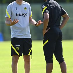 And then I said, I don't need any new signings