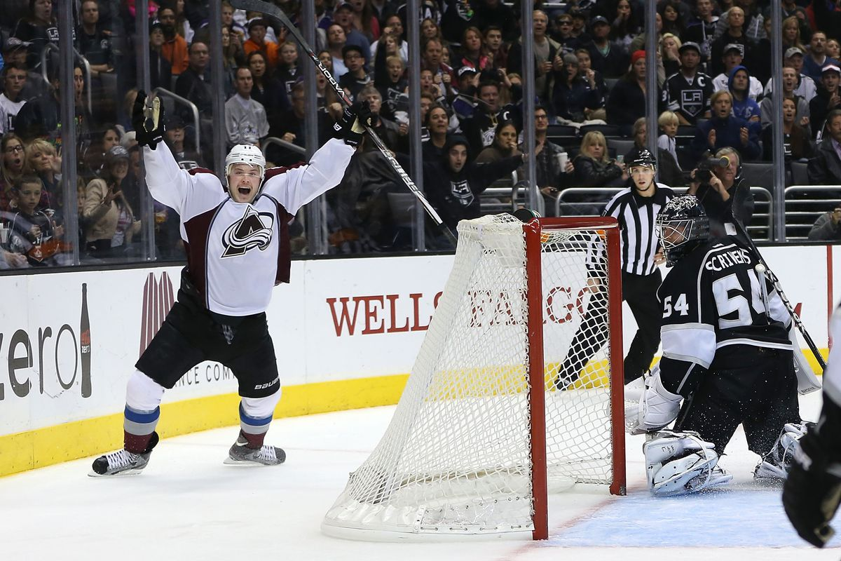 Yeah, okay Jamie McGinn, celebrate away like you actually did something. You're not Jarrett Stoll's Face last time I checked.