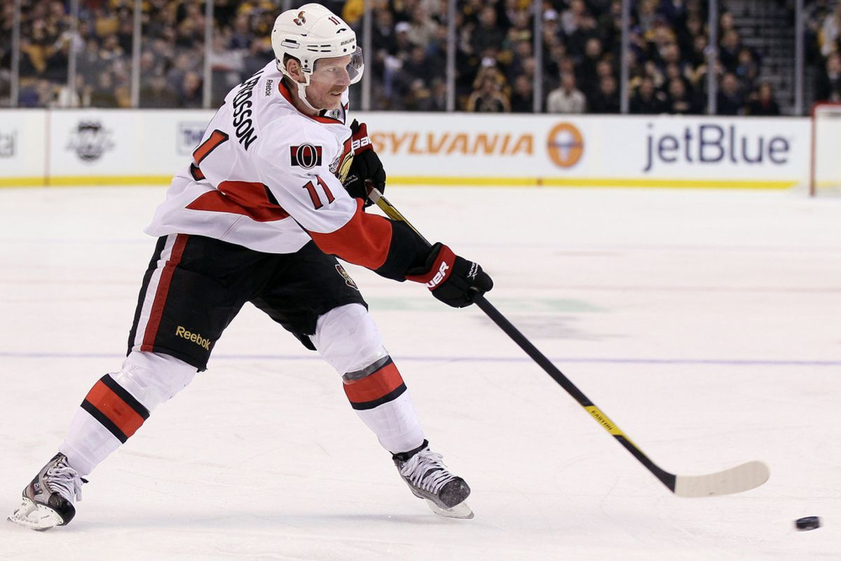 The captain has been one of Ottawa's best players recently. (Photo by Elsa/Getty Images)