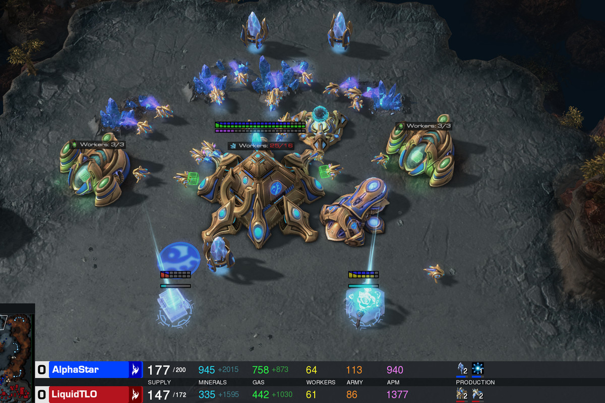 StarCraft is a deep, complicated war strategy game  Google's
