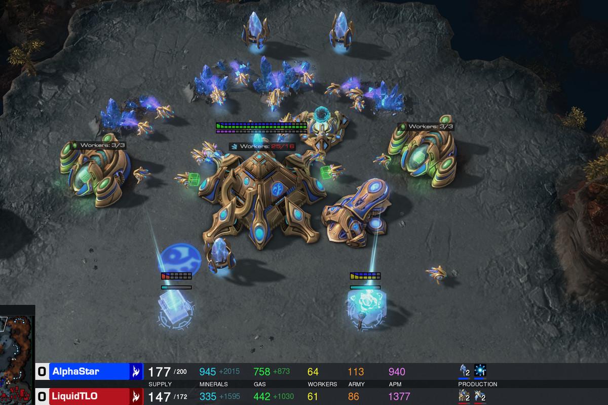 StarCraft Is A Deep, Complicated War Strategy Game. Google