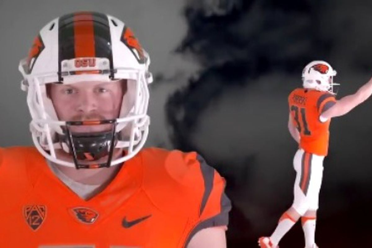 It's Orange and White this week for Oregon State.