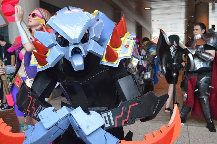 here are the best league cosplays from otakon 2016 the