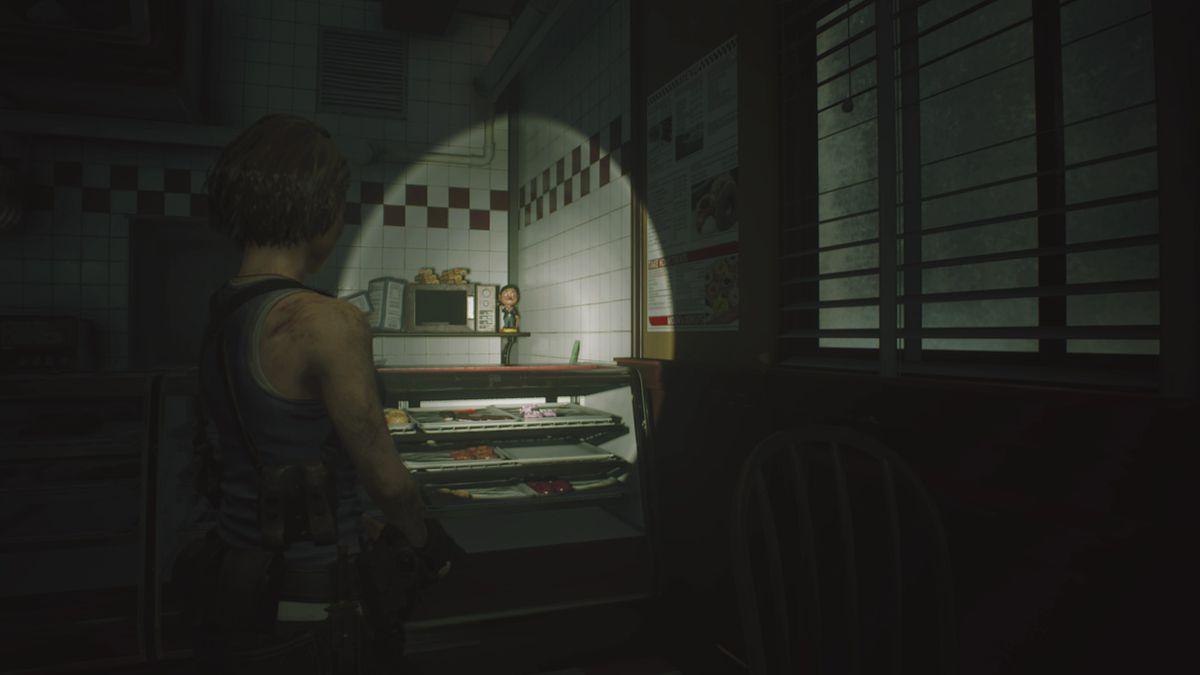 Resident Evil 3 Donut Shop Charlie Doll