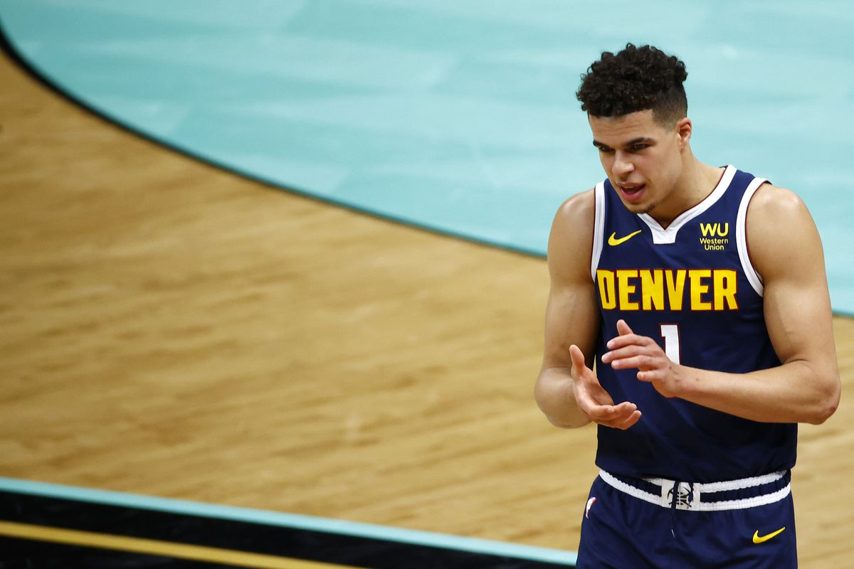 Denver Nuggets v Charlotte Hornets