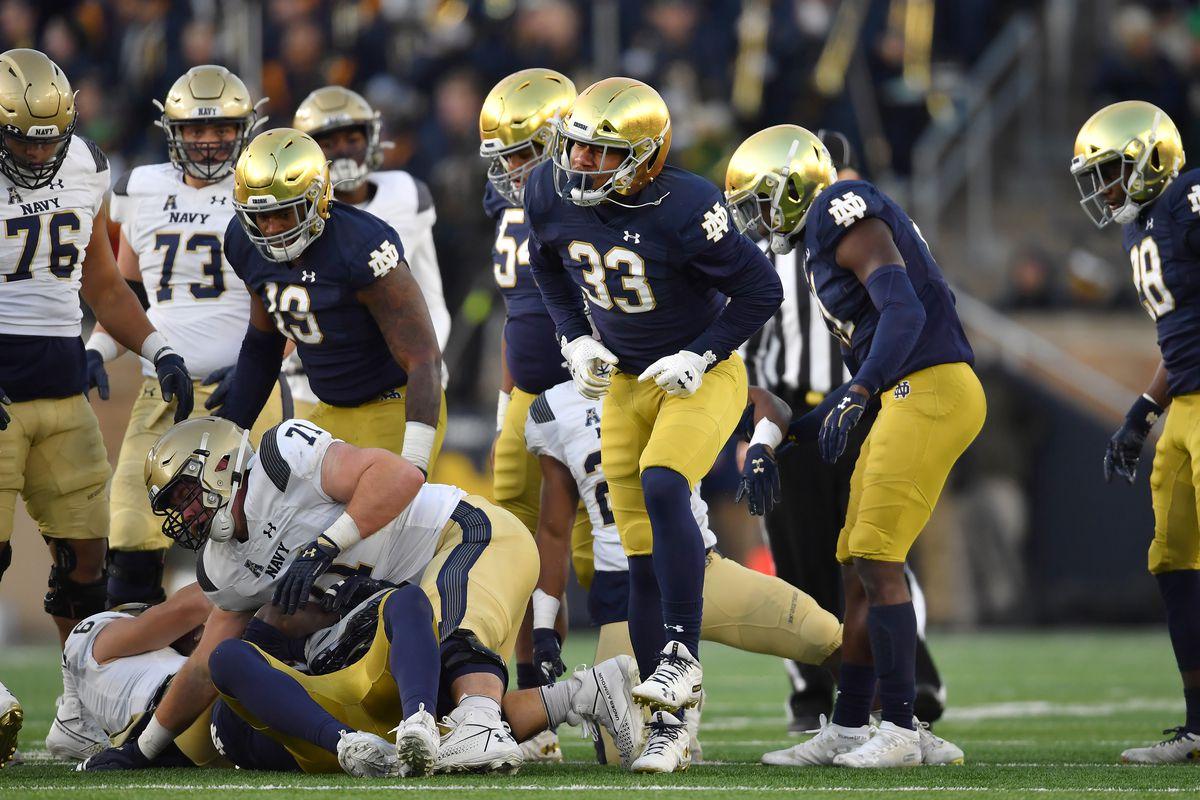 COLLEGE FOOTBALL: NOV 16 Navy at Notre Dame