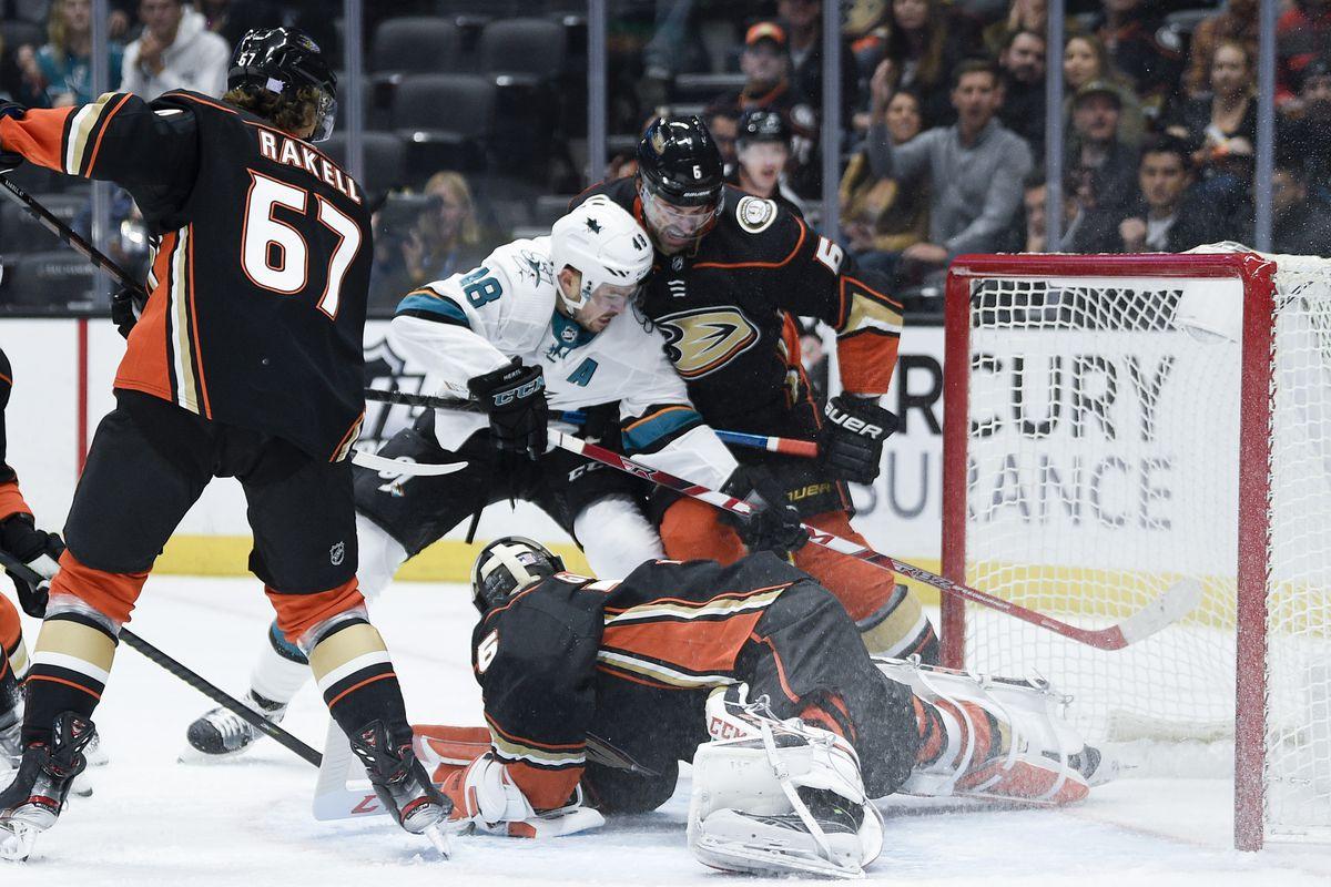 NHL: San Jose Sharks at Anaheim Ducks