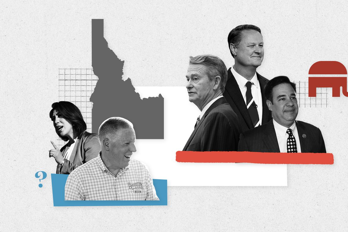 Republican candidates Rep. Raul Labrador, Lt. Gov. Brad Little, and Tommy Ahlquist are in a primary that will likely determin Idaho's next governor.