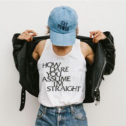 10% of proceeds from this tank and hat are donated to Brookyln's Lesbian Herstory Archives.