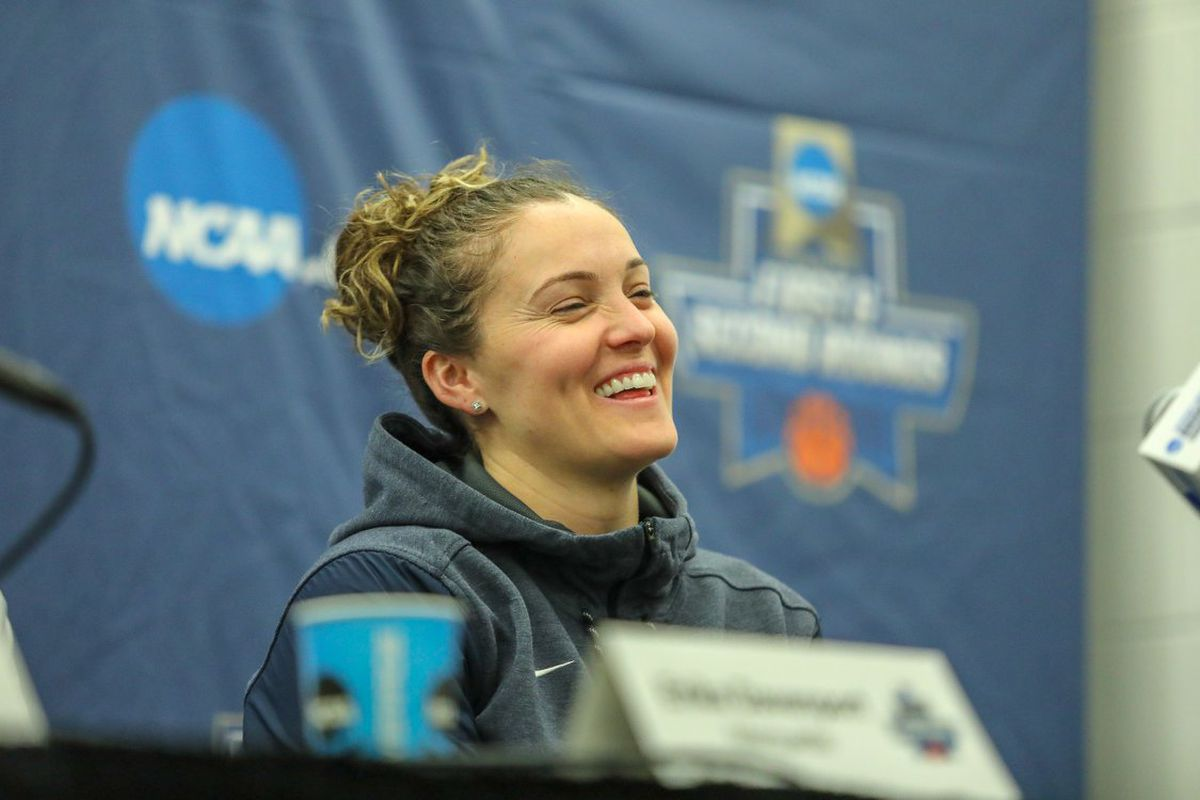 Marquette women's basketball head coach Carolyn Kieger