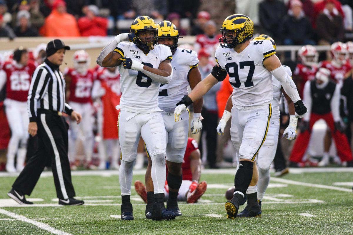 COLLEGE FOOTBALL: NOV 23 Michigan at Indiana