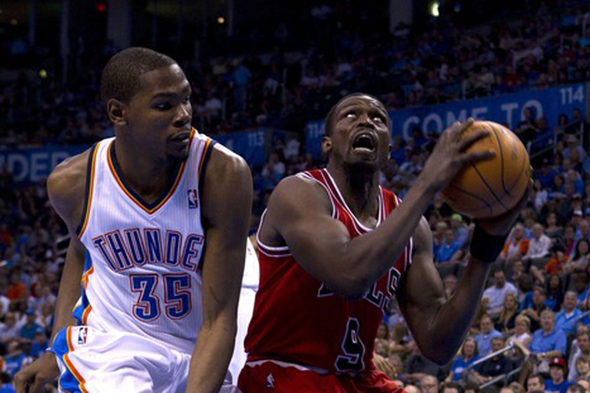You don't want to see Luol Deng in Beast Mode. Trust me.
