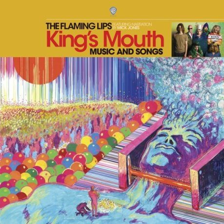 """This image released by Warner Bros. Records shows """"King's Mouth: Music and Songs"""" by The Flaming Lips."""