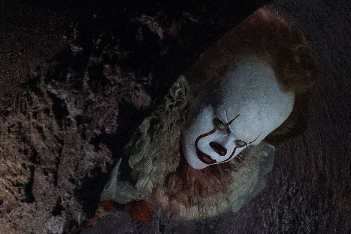It - Pennywise inside a pipe