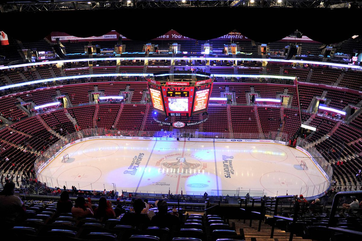 Florida Panthers improving poor attendance numbers with tarps ... 46fc4ab544a1