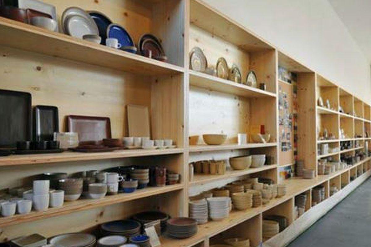 """Heath Ceramics. Photo via <a href=""""http://laist.com/2008/12/28/laist_goes_shopping_in_2008.php"""">LAist</a>."""