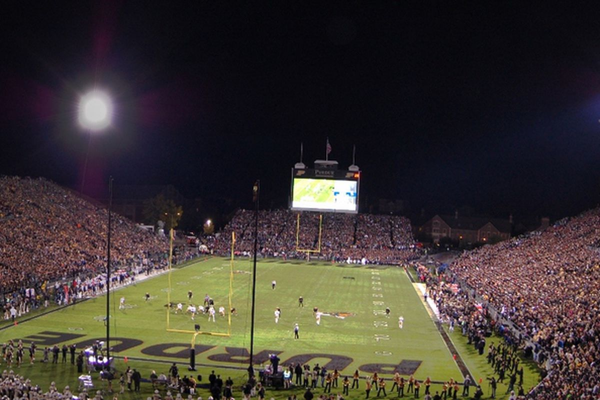 There were a lot of people at the start of the game.