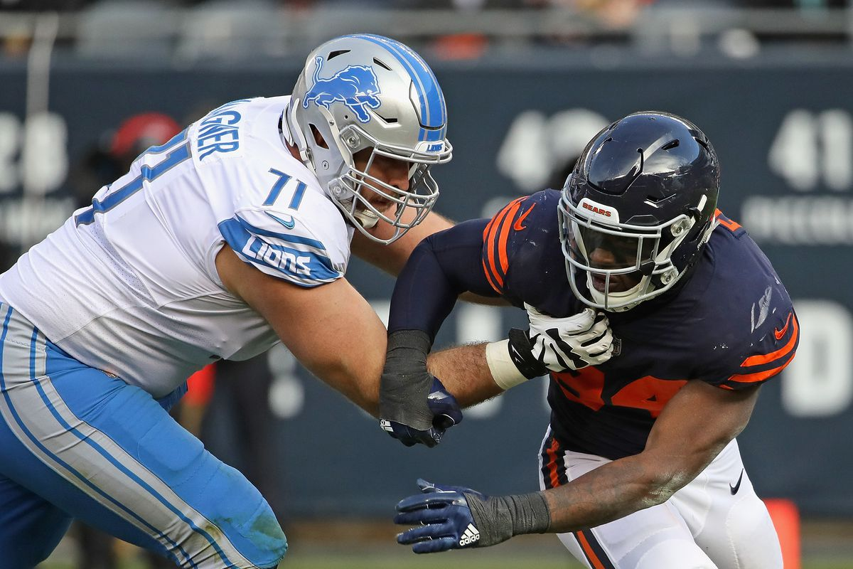 UPDATE Lions OT Rick Wagner OUT for game vs Ravens Pride