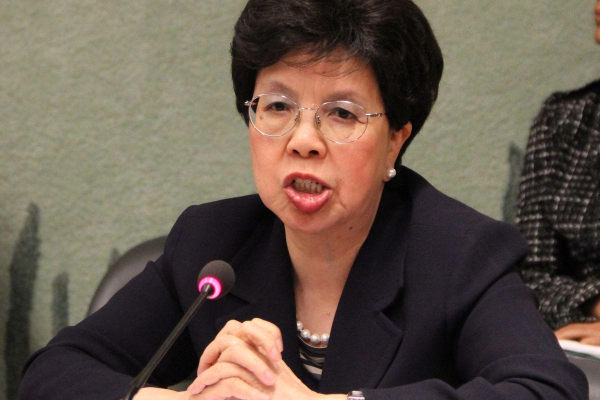 WHO director-general Dr. Maragaret Chen
