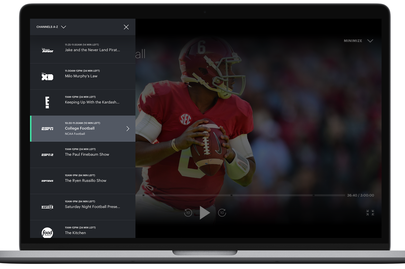 hulu adds a simple straightforward channel guide to live tv on the web