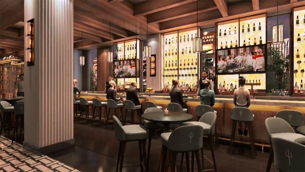 Gordon Ramsay Hell's Kitchen bar rendering