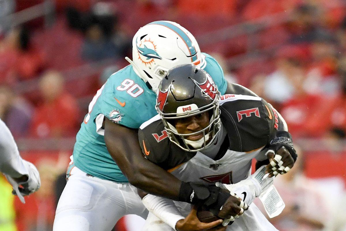 NFL Preseason Week 2: Josh Rosen, Preston Williams, offensive line dominate what to watch for Dolphins at Buc…