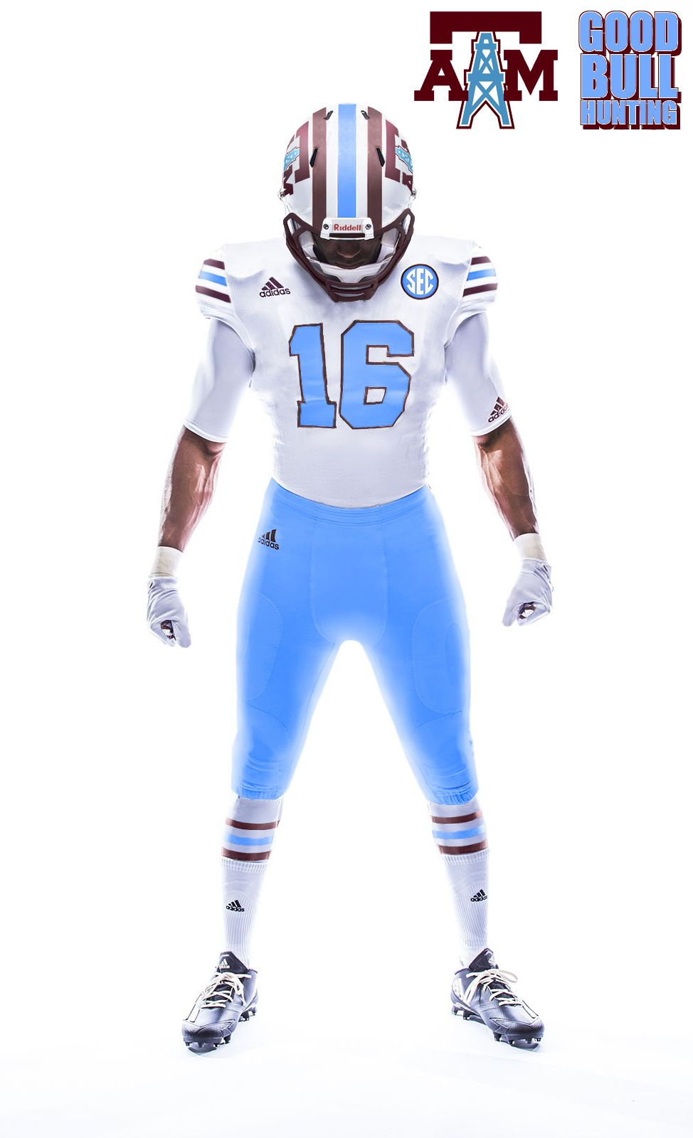 Texas A M To Wear Houston Oilers Tribute Uniforms In Response To Arkansas Cowboys Look Good Bull Hunting