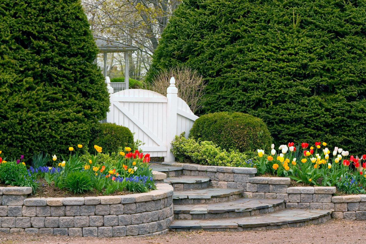 Retaining Wall Ideas Wood Stone Concrete This Old House