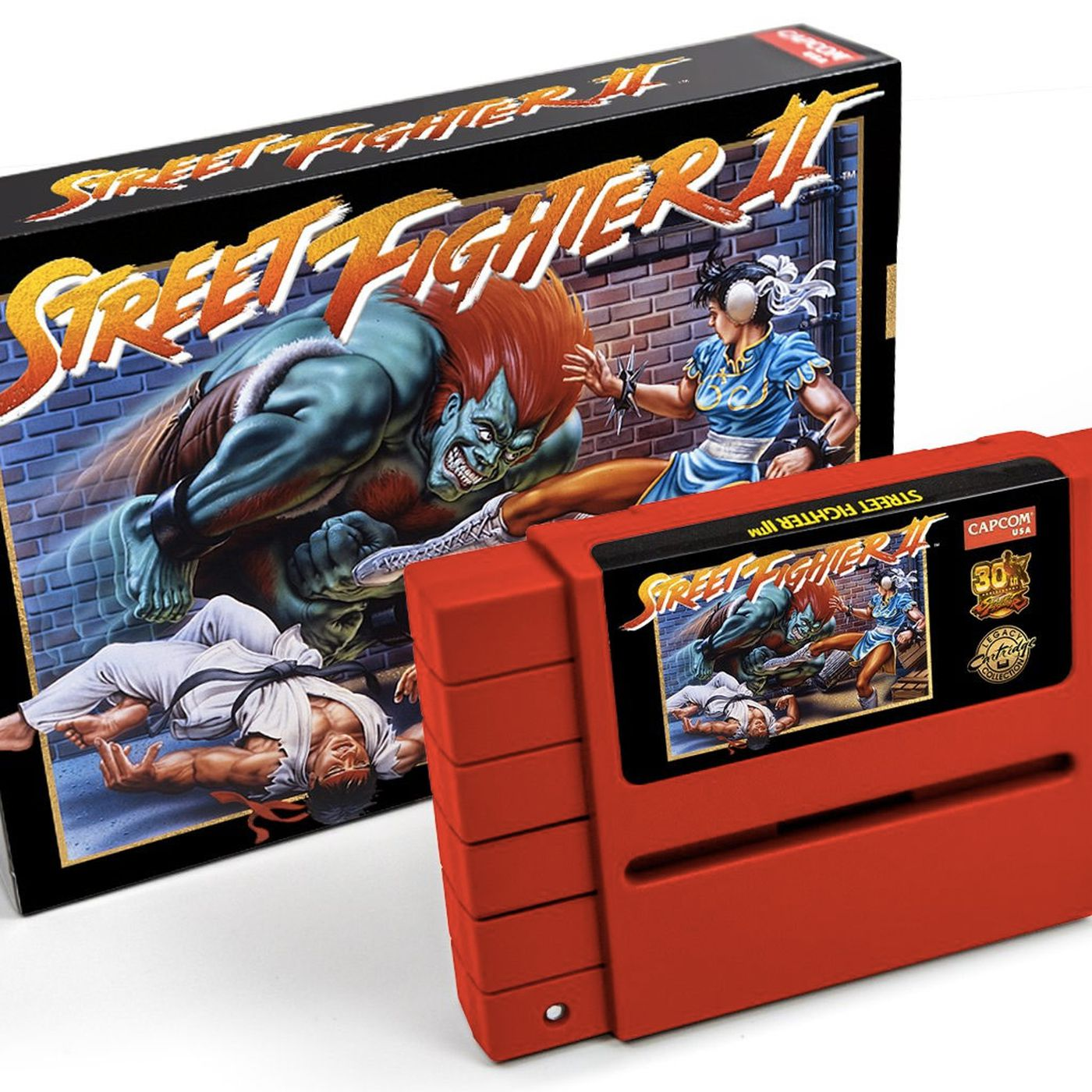 Capcom Re Releasing Street Fighter 2 On Snes Cartridge Polygon
