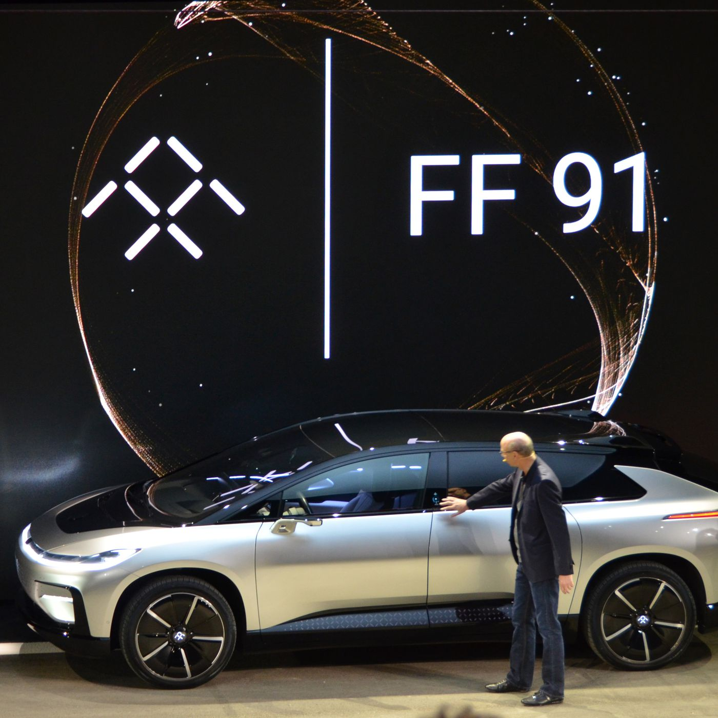 Faraday Futures First Car The FF Is Here The Verge - Fast car 361