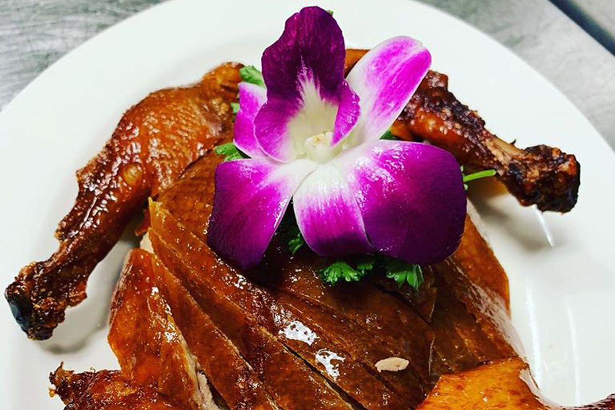 The 24-hour marinated Peking Duck at Jing Aspen, coming to Downtown Summerlin.