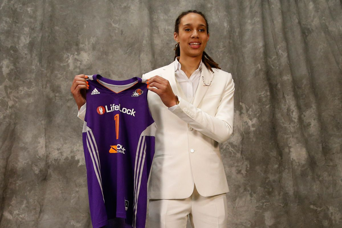 Brittney Griner was not afraid to be who she is even with the spotlight glaring right on her this spring and summer.