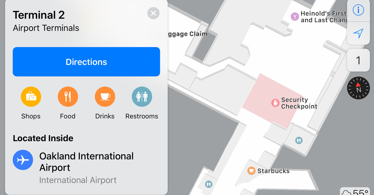 Apple adds more indoor airport maps including Chicago and Las Vegas