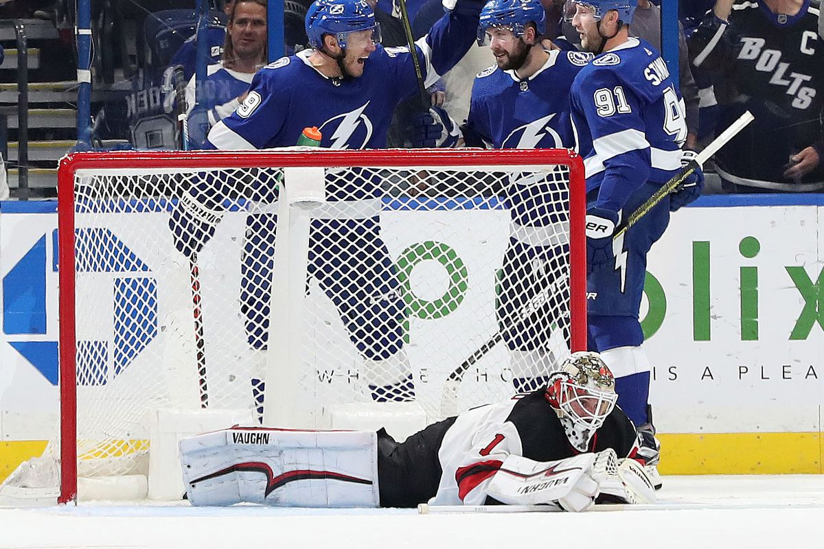 New Jersey Devils Outworked and Outplayed in Rout by Tampa Bay ... 03853cdf4