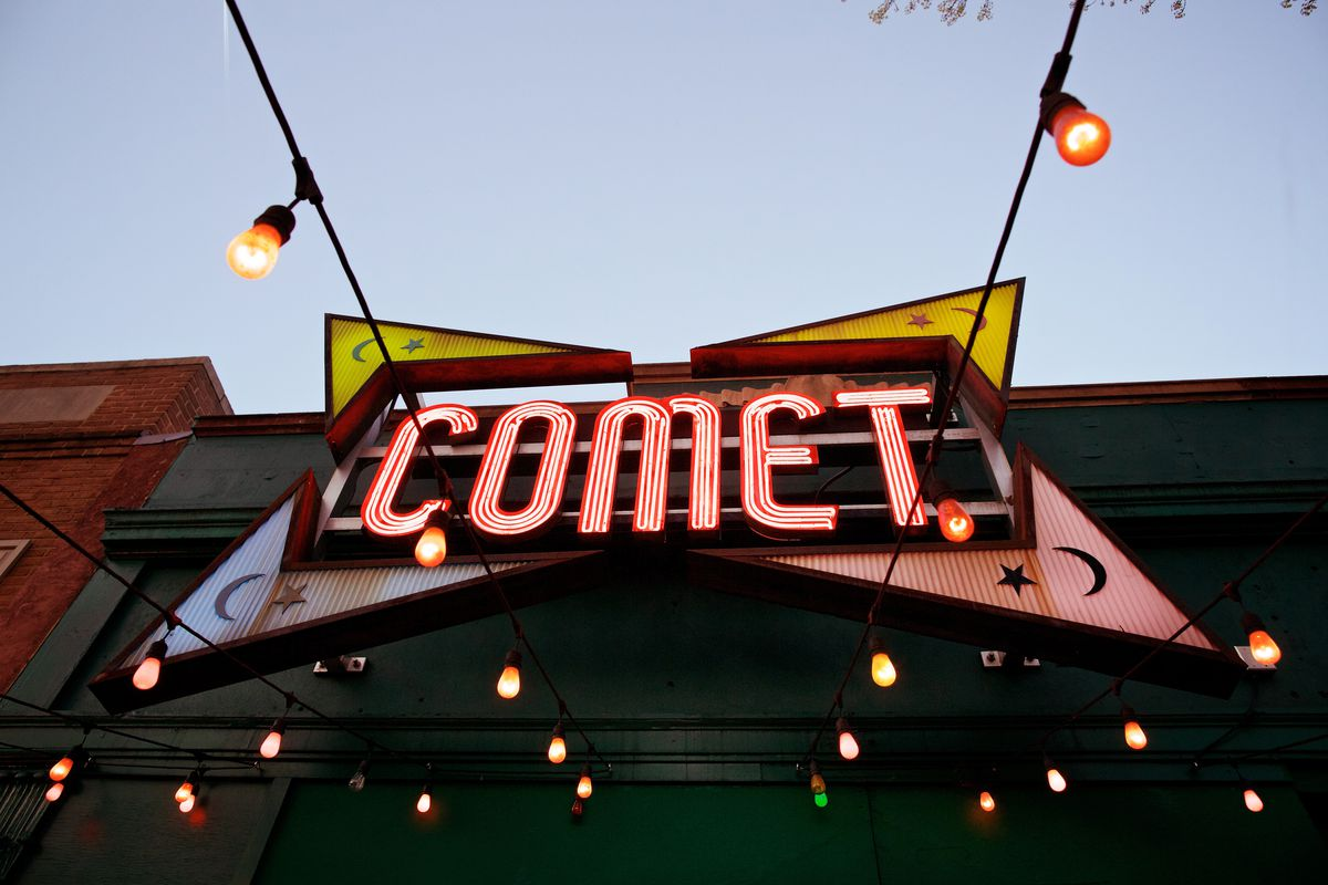 """The Comet Ping Pong pizzeria that a gunman walked into to """"self-investigate"""" a fictitious election-related conspiracy theory."""