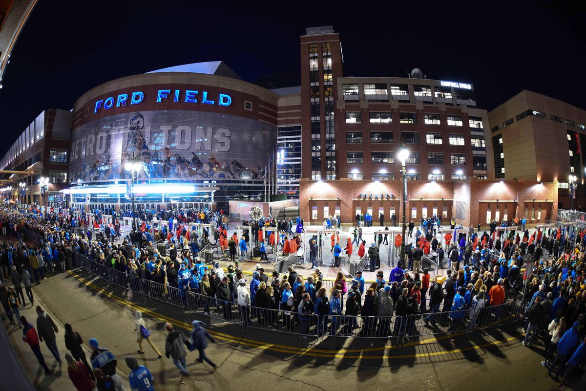 707d95b1 Detroit Lions fan guide to Ford Field: Parking tips, seating ...