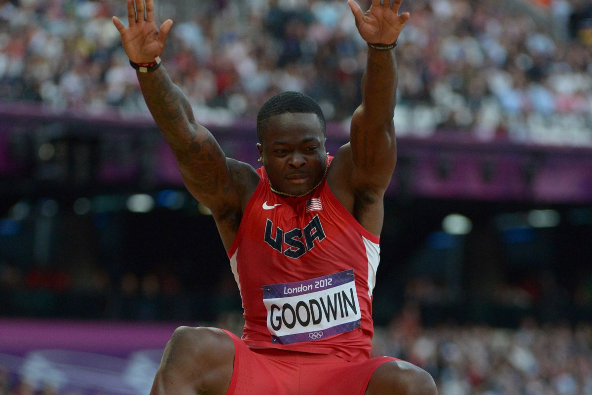 2013 NFL Combine results: Olympic long jumper Marquise Goodwin bested in  broad jump? - SBNation.com