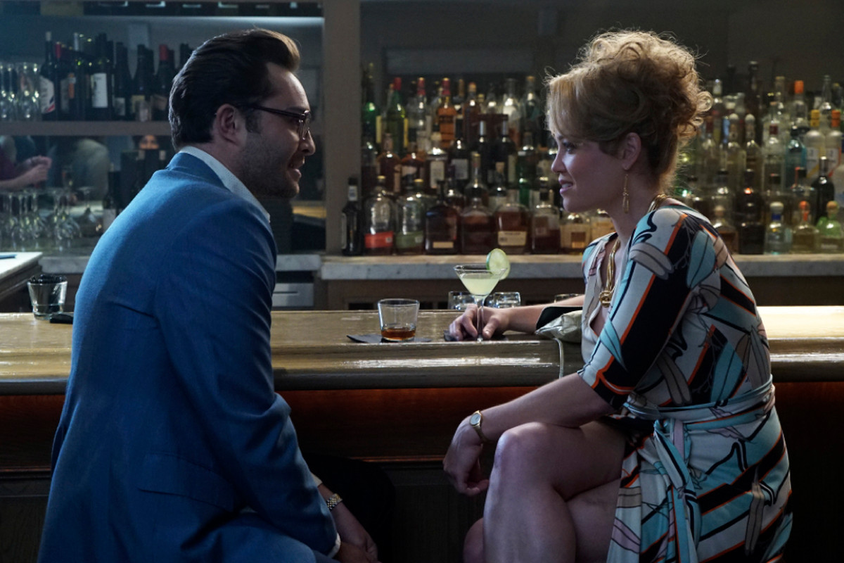 Ed Westwick and Erika Christensen in Wicked City.