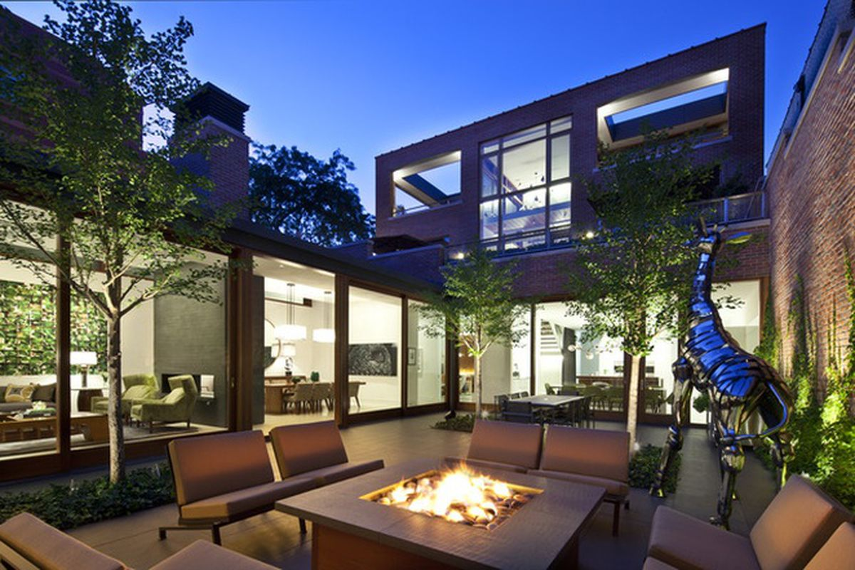 Massive Lincoln Park Home With Interior Courtyard Finally