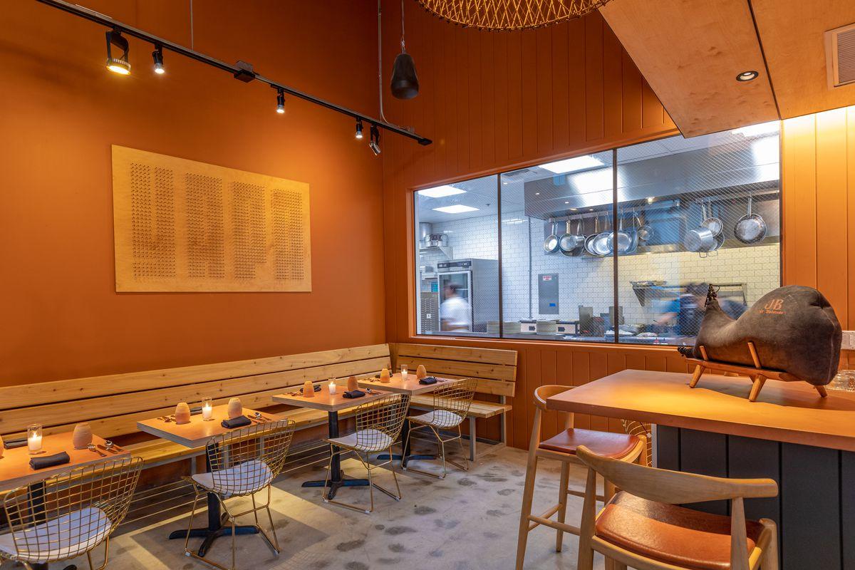 Inside Yapa Little Tokyo's dining room