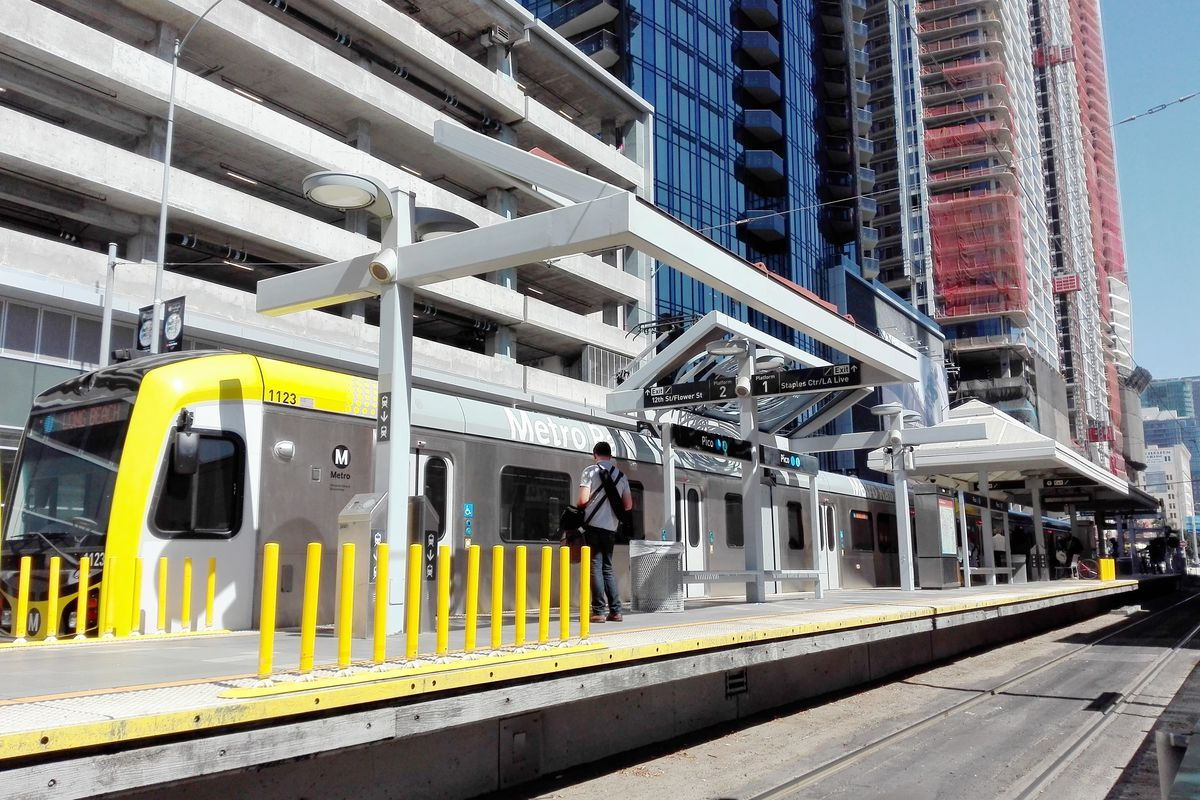 La Subway Map Year Opened.Blue Line Closure What To Know About The Schedule Shuttles Curbed La
