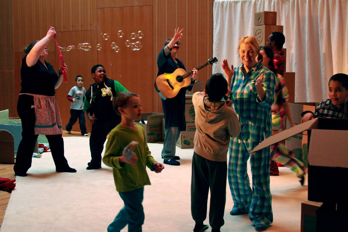 "Chicago Children's Theatre is presenting ""Red Kite, Brown Box"" through March 21."