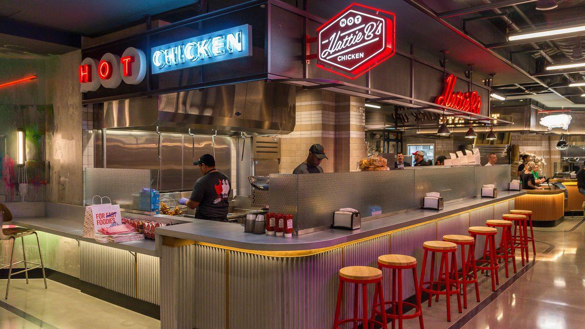 Hattie B's Hot Chicken at Block 16 Urban Food Hall