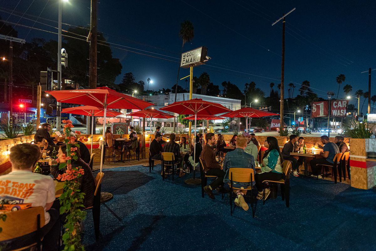 Helluva Time pop-up restaurant in Silver Lake, California