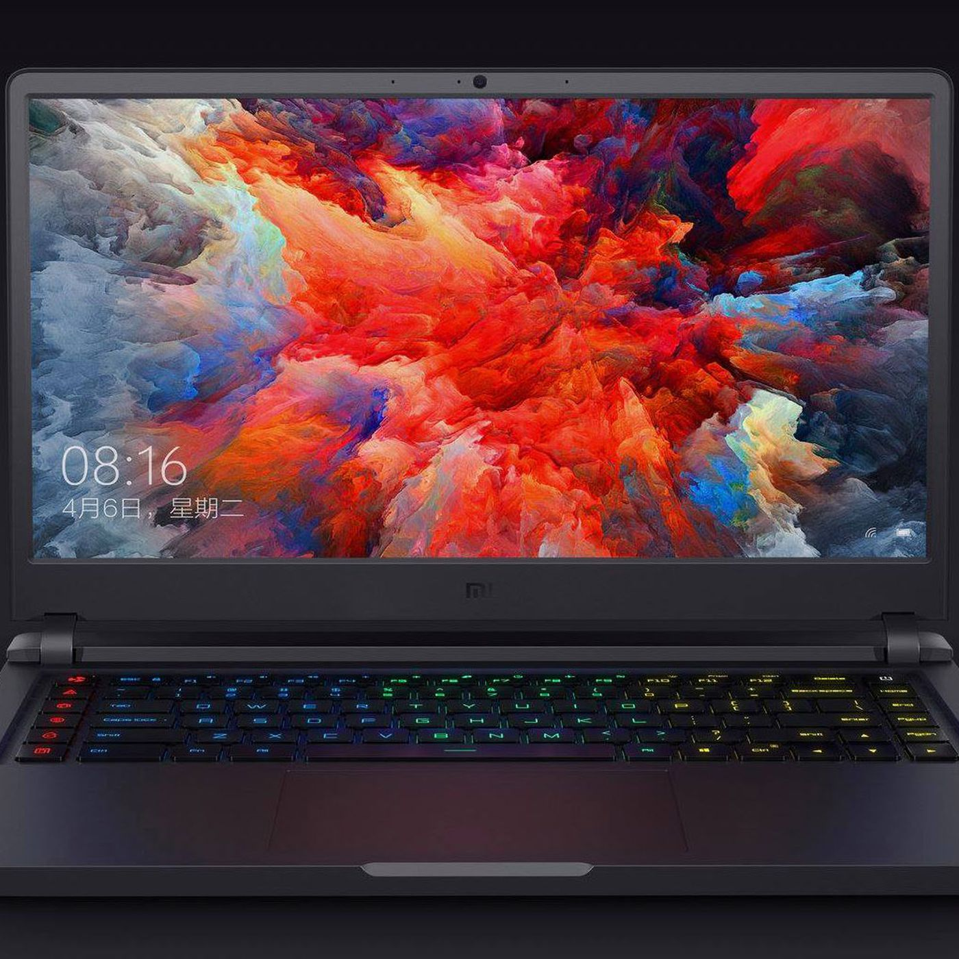 Xiaomi S Mi Gaming Laptop Comes With Nvidia Gtx 1060 Graphics And Costs 1 430 The Verge