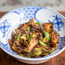 Brussels sprouts with charred chili nuoc cham<em></em>