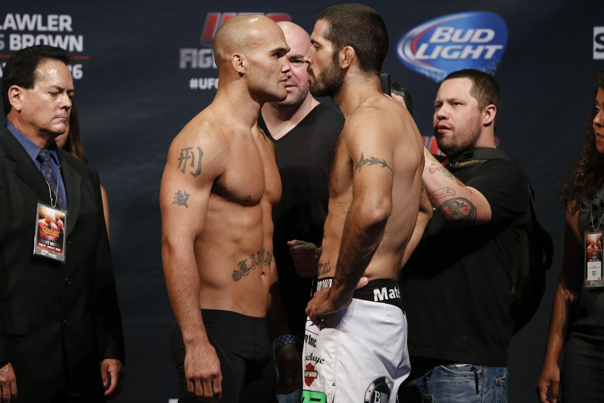Robbie Lawler and Matt Brown will square off in the UFC on FOX 12 main event Saturday night.